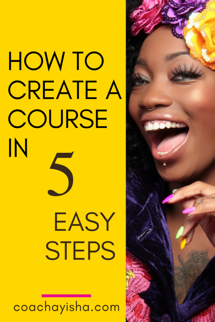 how to create a course in 5 easy steps